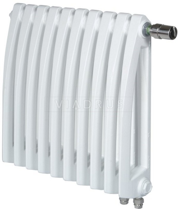 Чугунный радиатор Viadrus ITV Styl 500/130 + вентиль