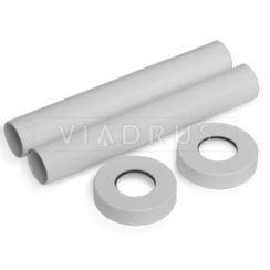 Маскировочный комплект для труб SR 0491 (белый)