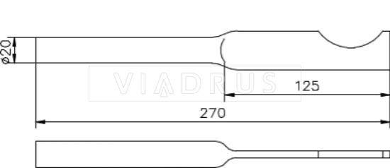 """Крепление для радиатора Viadrus тип """"А"""". Фото 3"""