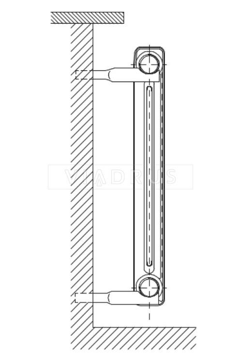 """Кріплення для радіатора Viadrus тип """"А"""". Фото 2"""