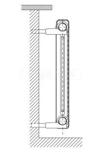 """Кріплення для радіатора Viadrus тип """"B"""". Фото 2"""