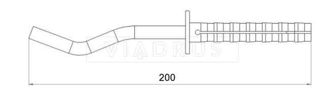 Крепление для радиатора Viadrus 12×200. Фото 2