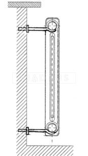 Кріплення для радіатора Viadrus 12×200. Фото 3