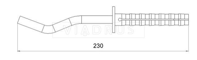 Кріплення для радіатора Viadrus 12×230. Фото 2