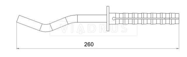 Крепление для радиатора Viadrus 12×260. Фото 2