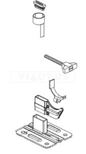 Кріплення для радіатора Viadrus Wemefa кoмплeкт №7